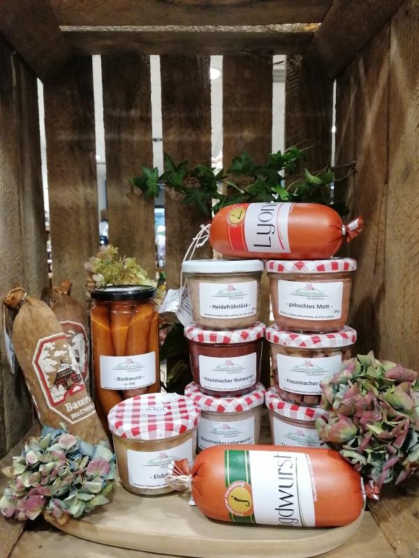 Wurstspezialitäten direkt vom Erzeugerhof