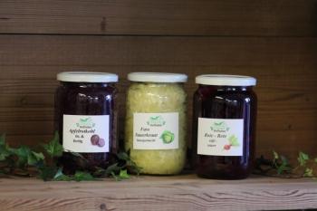 Apfelrotkohl, Sauerkraut, Rote - Bete